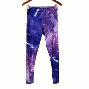 Goldsheep purple ombre cycling leggings size large